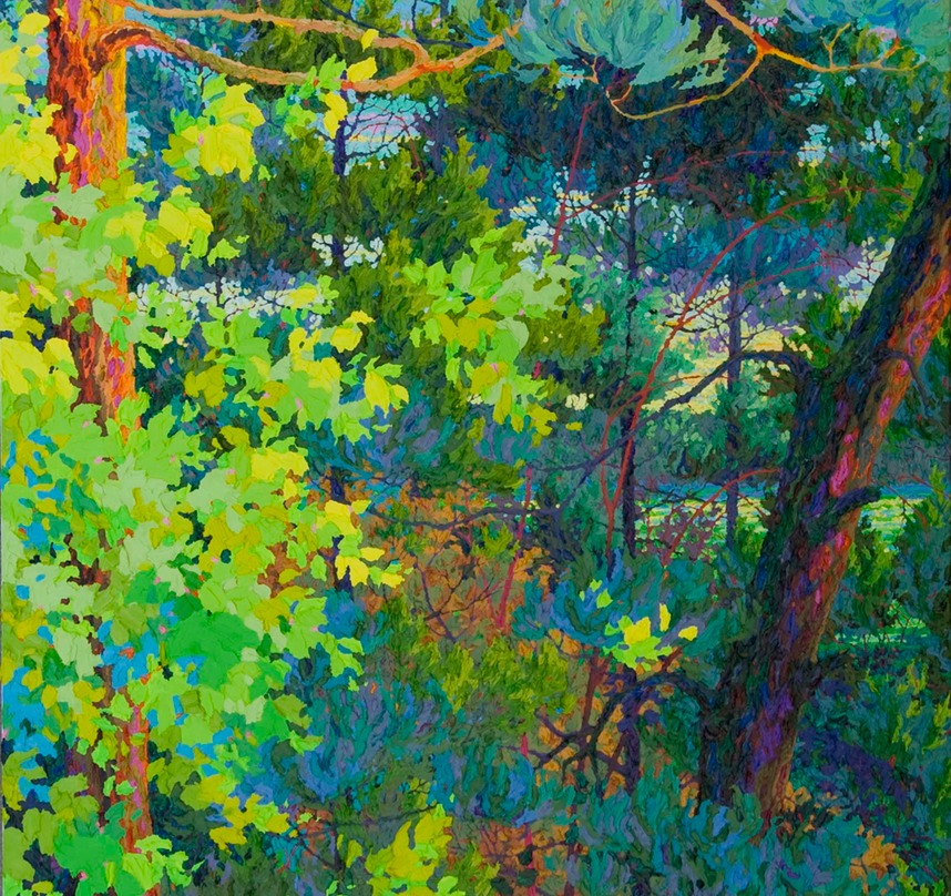 Forest Waters - 6ft x 4ft SOLD