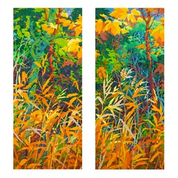 Autumn-Fire-Diptych-I-and-II