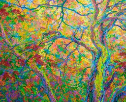 "Balaams Wood Oak Canopy - 46"" x 56"""