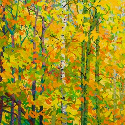 "Cool Autumn Light - 32"" x 46"""