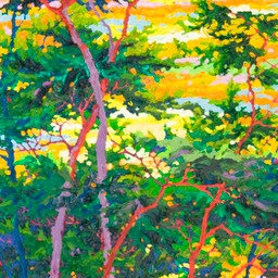 "Cypress at Pebble Beach I  - 32"" x 14"""