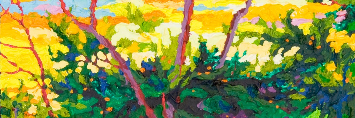 "Cypress at Pebble Beach II - 32"" x 14"" SOLD"