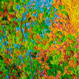 "Flight of Autumn Leaves Santa Fe - 9"" x 12"""