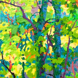 "Gem - Aspen Shadows I - 9"" x 12"""