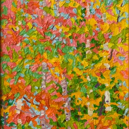 "Gem - Birches and Maples - 9"" x 12"""