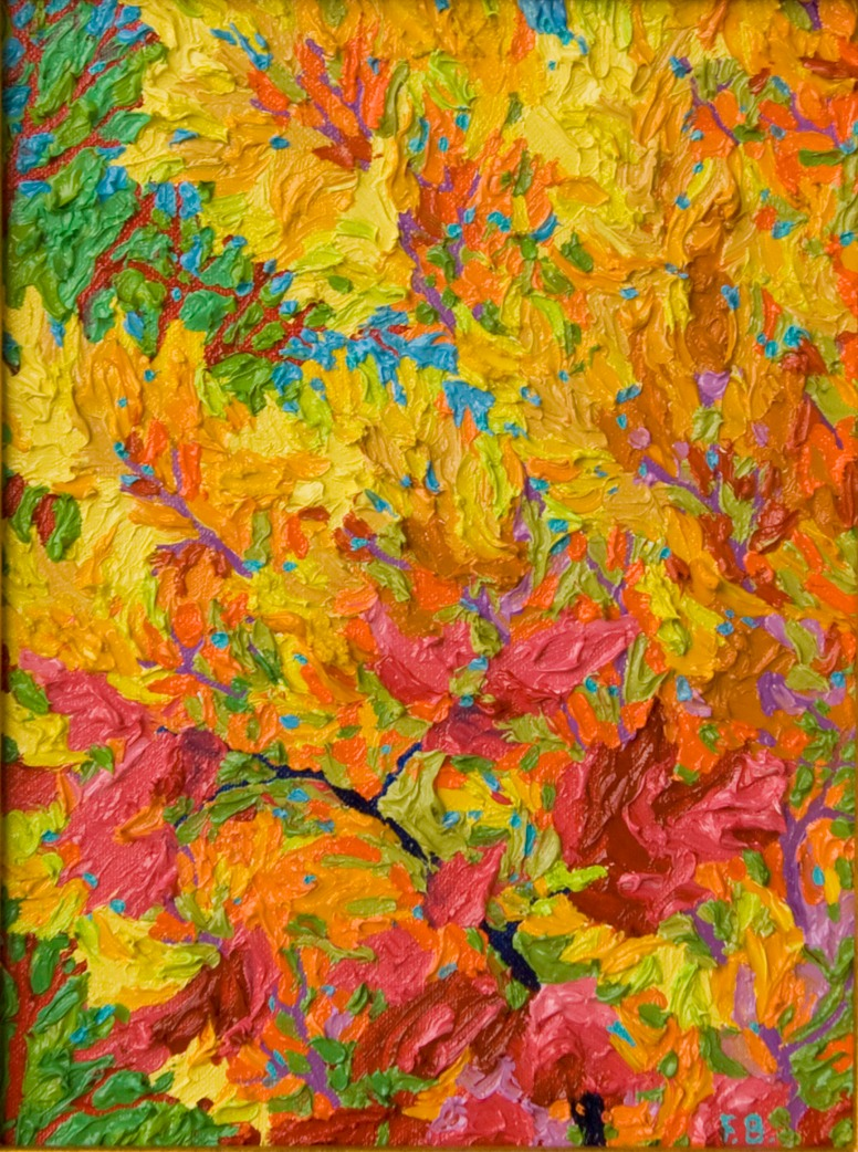 "Gem - Flamboyant Fall - 9"" x 12"""
