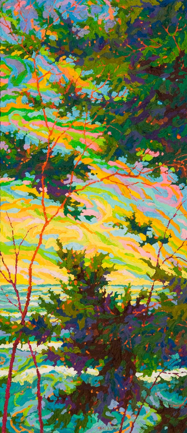 "Point Lobos Pacific Glory II - 32"" x 14'"