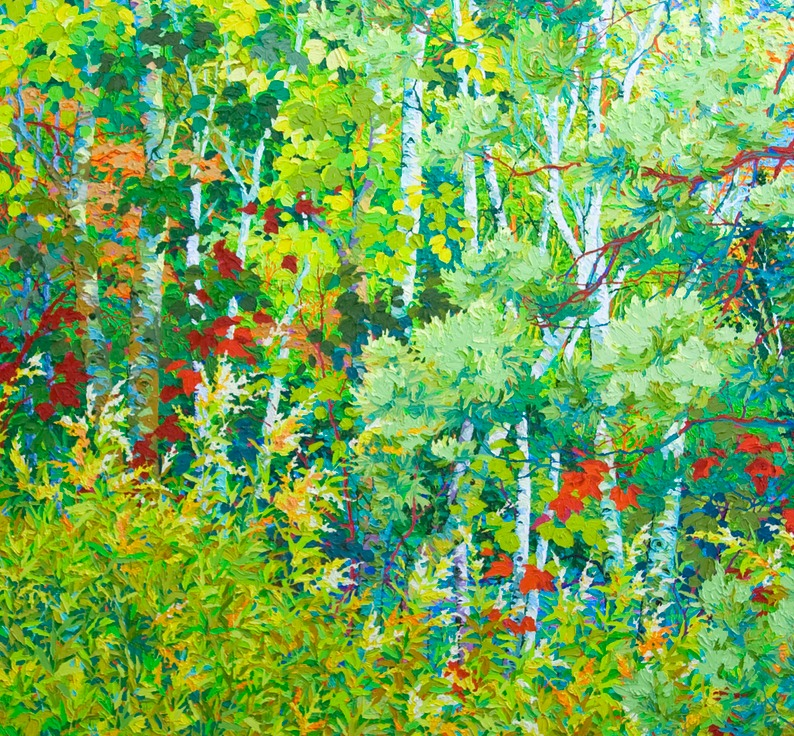 "Santa Fe Hidden Marsh II - 60"" x 60"""