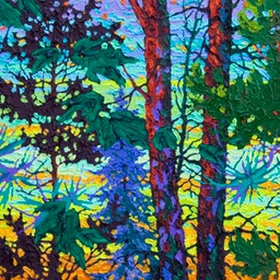 "The Glow of Evening  - 16"" x 46"""