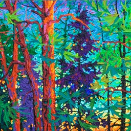 "Twilight Series - The Sigh of Evening  - 16"" x 36"""