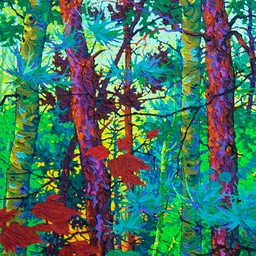"Timeless Forest II - 50"" x 24"""
