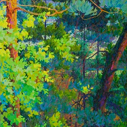 Forest Waters - 6ftx4ft