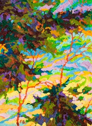 "Gem - Last Light Point Lobos I - 9"" x 12"""