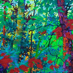 "Timeless Forest III - 28"" x 19"""